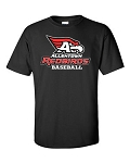 AHS Baseball - SS T-shirt with Logo (2 Colors Available)