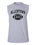 Allentown Football Sleeveless T-shirt with Graduation Year