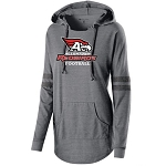 AHS Football- Junior's Hooded Low Key Pullover with Logo (3 color options)