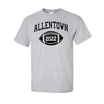 AHS Football T-shirt with Graduation Year