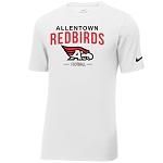 AHS Football - Nike Core Cotton Tee - White