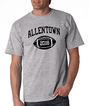 Allentown Football T-shirt with Graduation Year
