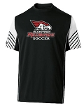AHS Boys Soccer - Short Sleeve Moisture Wick Arc Shirt with Logo
