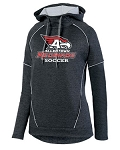 AHS Boys Soccer - Ladies Wicking Fleece Zoe Tonal Heather Hoody (2 color options)
