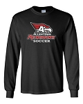AHS Boys Soccer - Long Sleeve T-shirt with Logo (2 Colors Available)