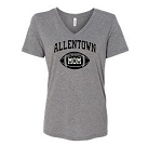 AHS Football Mom V-neck T-shirt