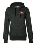 AHS Spiritwear - Allentown Redbirds Glitter Flake Embroidered Hooded Sweatshirt