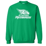 AHS Spiritwear - Irish Green Crewneck Sweatshirt with logo