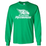 AHS Spiritwear - Irish Green Long Sleeve Tshirt with logo