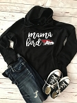 AHS Spiritwear - Mama Bird Women's Hometown Hooded in Glitterflake