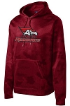 Allentown Redbirds Spiritwear -  Sport-Tek® Youth & Adult Sport-Wick® CamoHex Fleece Hooded Pullover with logo