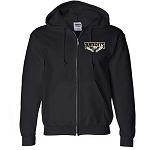Bandits Apparel- Full Zip Hooded Sweatshirt