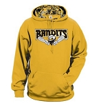 Bandits Apparel- Digital Camo Colorblock Performance Fleece Hooded Sweatshirt