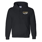 Bandits Apparel - Player Hooded Sweatshirt with Embroidered Chest Logo and Silk Screen Number on Arm