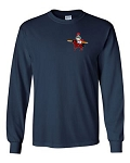 Central Elementary - Teacher Apparel - Gildan Long Sleeve T-Shirt - Navy