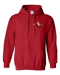 Central Elementary - Teacher Apparel - Gildan Hooded Sweatshirt - Red
