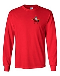 Central Elementary - Teacher Apparel - Gildan Long Sleeve T-Shirt - RED