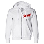 Central Jersey Storm Apparel - Gildan Full Zip Hooded Sweatshirt with Logo