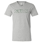 Chittick Elementary - Bella V Neck Short Sleeve T-Shirt