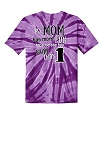 Central NJ Mother of Multiples Tie Dye My Mom T-shirt