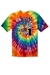 Central NJ Mother of Multiples T-shirt  - Mom's Tie Dye Shirt