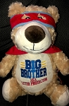 Personalized Big Brother AKA Sister/Brother Protector Bear