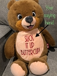 Personalized Teddy with Your Quote