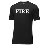 Fire Apparel - Black Nike Core Cotton Short Sleeve Tee