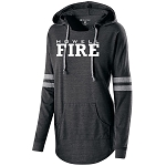 Fire Apparel - Ladies Hooded Low Key Pullover with Logo