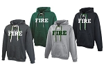 Fire Apparel - Pennant Faceoff Hoodie with Logo