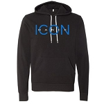 Icon Dance - Bella Canvas Youth/Unisex Sponge Fleece Hoodie