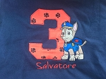 Personalized Paw Patrol Birthday Shirt