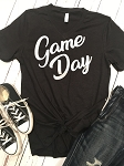 Inspired Apparel - Bella Unisex Tee with Game Day Glitter Design