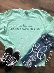 INSPIRED - Comfort Colors Long Sleeve Custom Beach Wear