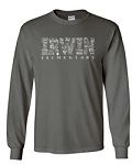 Irwin Elementary Charcoal Long Sleeve T-shirt