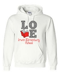 Irwin Elementary Love to Read Hooded Sweatshirt