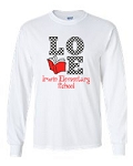 Irwin Elementary Love to Read Long Sleeve T-shirt