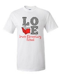 Irwin Elementary Love to Read T-shirt