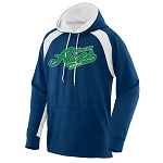 Mercer Aces Apparel - Fanatic Dry Fit Hooded Sweatshirt