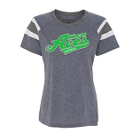 Mercer Aces Apparel - Augusta Women's Short Sleeve Fanatic T-Shirt