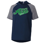 Mercer Aces Apparel - Echo Short Sleeve Hooded