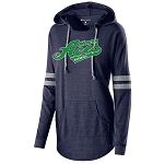Mercer Aces Apparel- Ladies Hooded Low Key Pullover with Logo