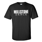 Millstone Dance - Gildan Short Sleeve T Shirt with Block Logo