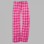 Millstone Dance - Boxercraft Flannel Pants with Name Down Leg