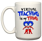 Virtual Teaching Is My Thing Mug