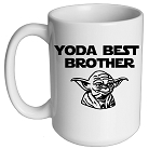Yoda Best Brother Mug