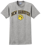 New Hanover SpiritwearNew Hanover T-shirt- Sports Grey
