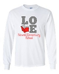 Newell Elementary Love to Read Long Sleeve T-shirt