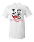 Newell Elementary Love to Read T-shirt