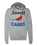 Newell Elementary - Newell Cares Staff Bella Hooded Sweatshirt